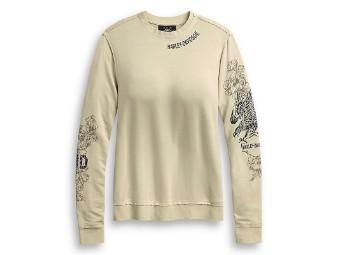 Shirt Langarm Eagle & Roses