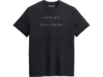 Grey on Black T-Shirt
