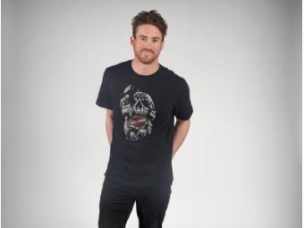 Herren T-Shirt 'Shattered Skull'