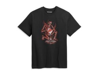 Herren T-Shirt 'Forged H-D'