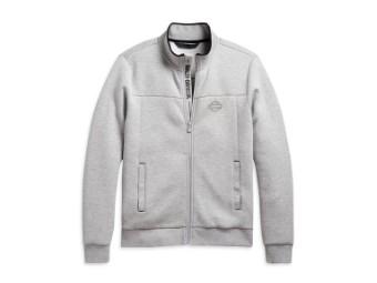 Sweatjacke Mockneck Aktivewear