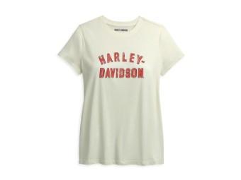 Damen T-Shirt 'Winged Logo'
