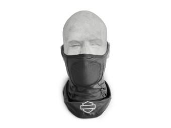 Neoprene Gesichtsmaske mit Reflektion