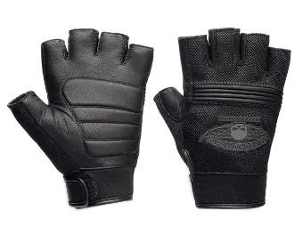 Handschuhe Fingerlos Leder