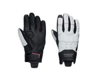 CE Damen FXRG® Lederhandschuh 'White Coolcore'