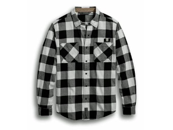 Buffalo Plaid Slim Fit, kariertes Hemd