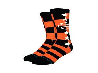 Stance X H-D Socken 'Side Checkered'