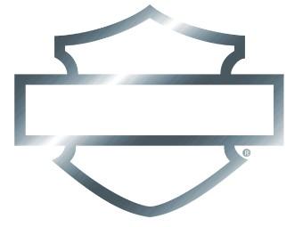 Bar & Shield Chrome Silhouette