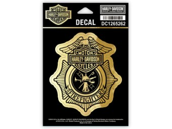 Decal Firefighter