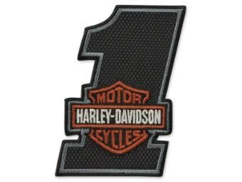Emblem #1 B&S black7orange