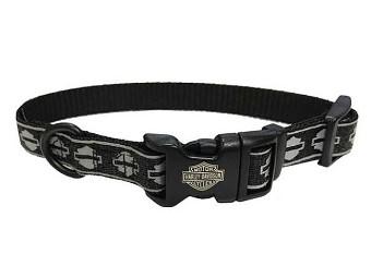 Reflektierendes Nylon Halsband 'B&S'
