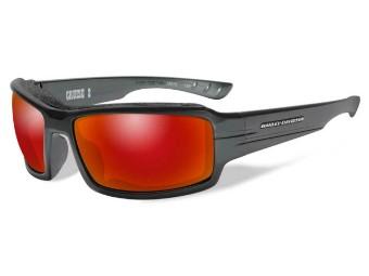 Schutz/Sonnenbrille Cruise2 rote Linsen