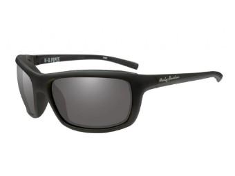 Schutz/Sonnenbrille Pipes graue Linsen