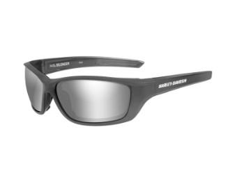 Motorrad Schutzbrille 'Silencer' graue Linsen