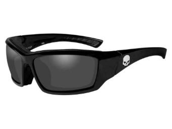 Schutz/Sonnenbrille Tat graue Linsen