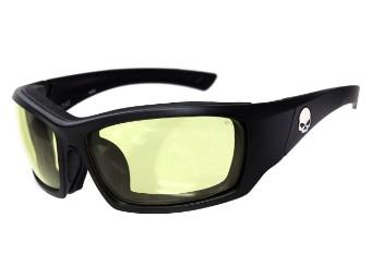 Schutz/Sonnenbrille Tat gelbe Linsen