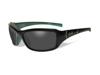 Schutz/Sonnenbrille Tori graue Linsen