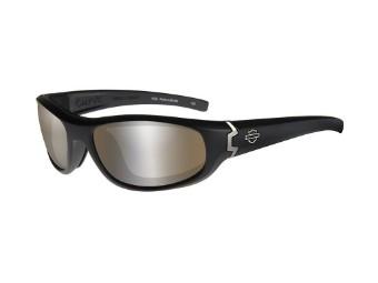 Motorradschutzbrille 'Curve Brown' Polarisiert