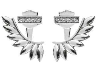Damenohrringe B&S Flügel