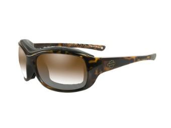 Motorradschutzbrille 'Journey Brown' Selbsttönend