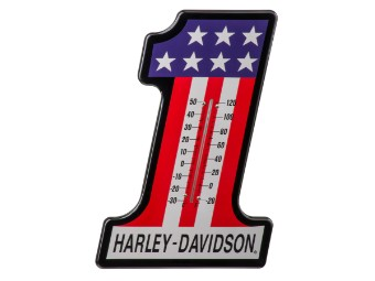 H-D #1 Racing Thermometer