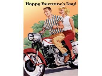 Grußkarte zum Valentinstag 'Hottest Thing'
