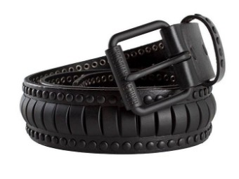 Black Cylinder Herrengürtel