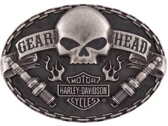 Gürtelschnalle Gear Head