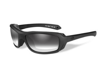 Motorradschutzbrille 'Rage-X Grey' Selbsttönend