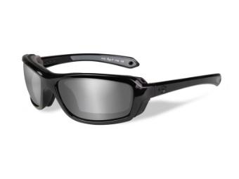 Motorradschutzbrille 'Rage-X Grey' Polarisiert