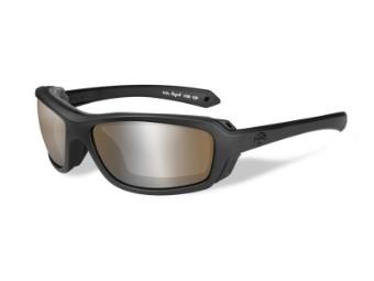 Motorradschutzbrille 'Rage-X Brown' Polarisiert