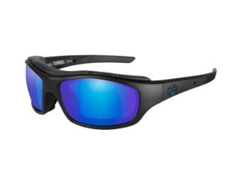 Motorradschutzbrille 'Tunnel Blue' Polarisiert