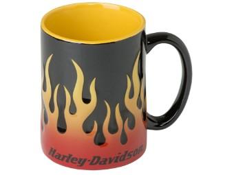 Kaffeetasse 'Flames'