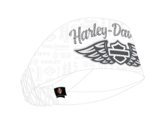 Headband ,Winged Script'