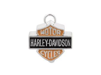 Ride Bell Harley-Davidson in B&S Form schwarz/orange
