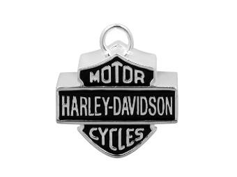 Ride Bell Harley-Davidson in B&S Form schwarz/silber