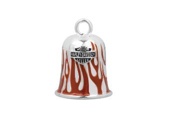 Ride Bell Harley-Davidson rote Flammen