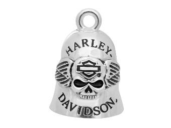 Ride Bell Harley-Davidson B&S Skull mit Flügeln
