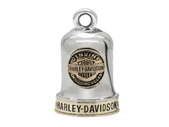 Ride Bell Harley-Davidson Genuine gold abgesetzt