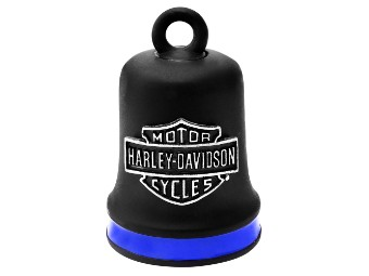 Ride Bell Harley-Davidson schwarz mit blau abgesetzt