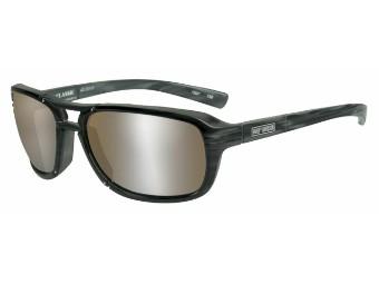 Schutz/Sonnenbrille Classic braune Linsen