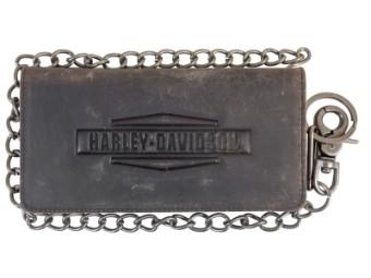 Vintage Geldbörse mit Schlüsselkette
