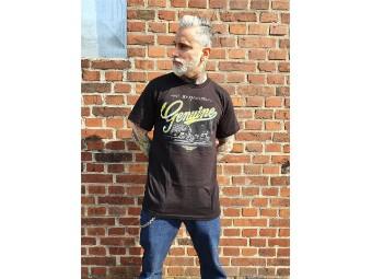 Herren Shop Shirt 'genuine'