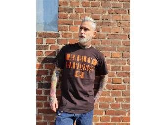 Herren Shop Shirt 'scrape Lines'