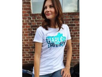Damen Shop Shirt 'name Silhoütte'