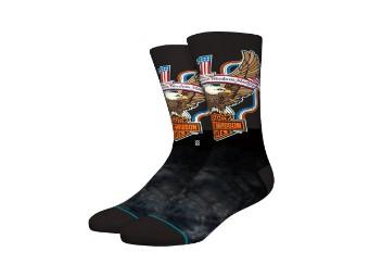 Stance X H-D Socken 'Amercan Pride'