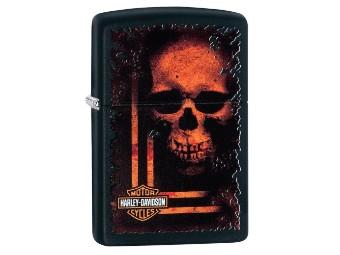Feuerzeug Bar & Shield mit Totenkopf