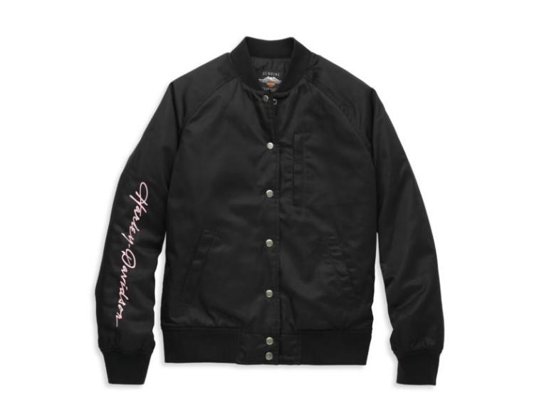97403-22VW/000L, Jacket-Bomber,Woven,black