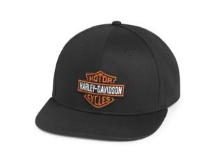 Cap Bar and Shield Logo