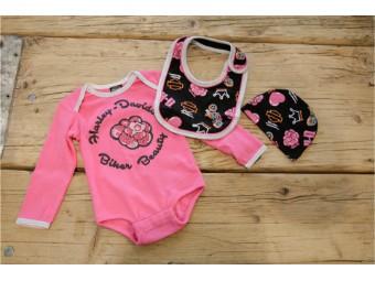 Newborn Girl 3 Piece Gift Set